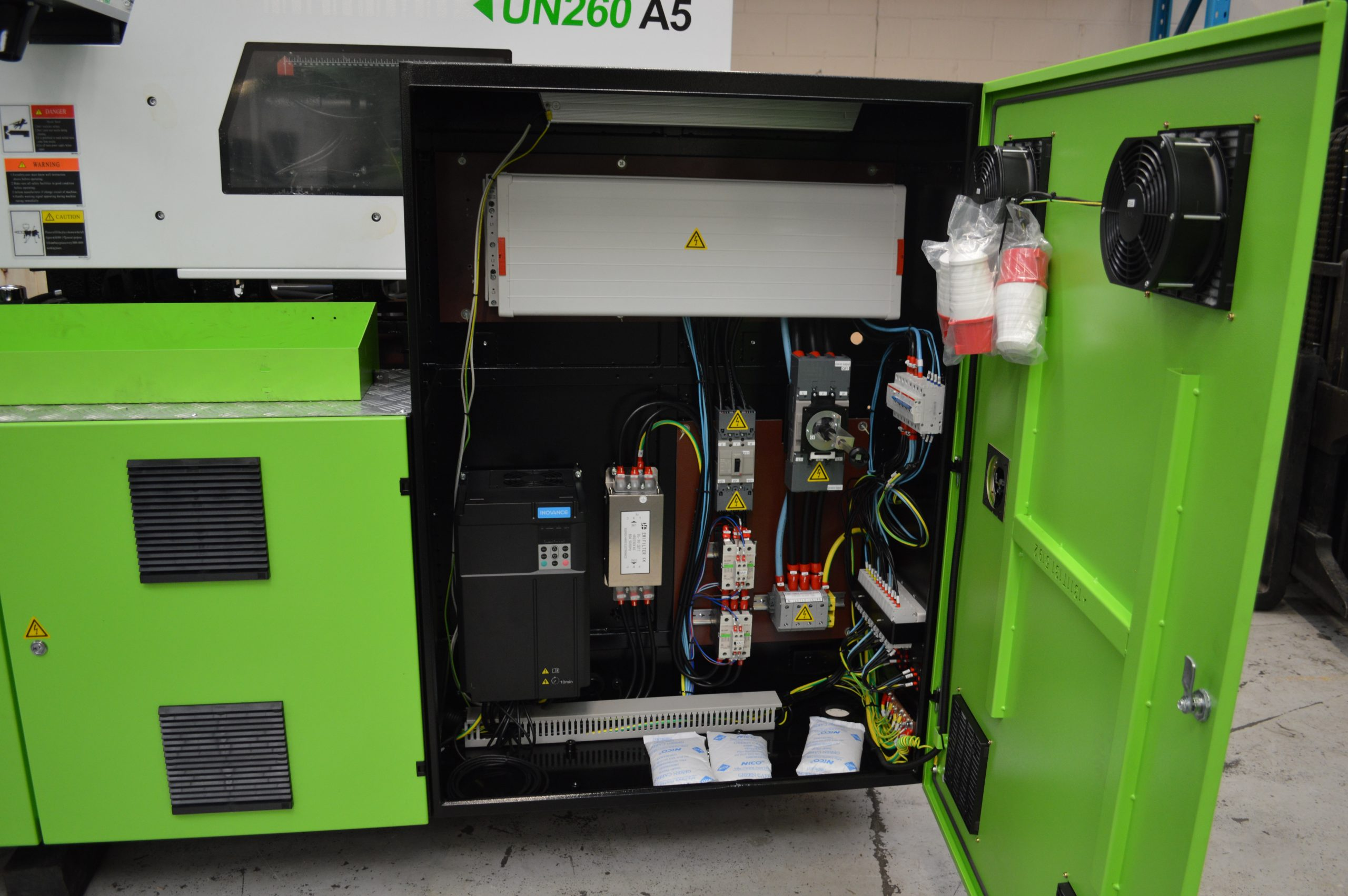 A5 electrical cabinet
