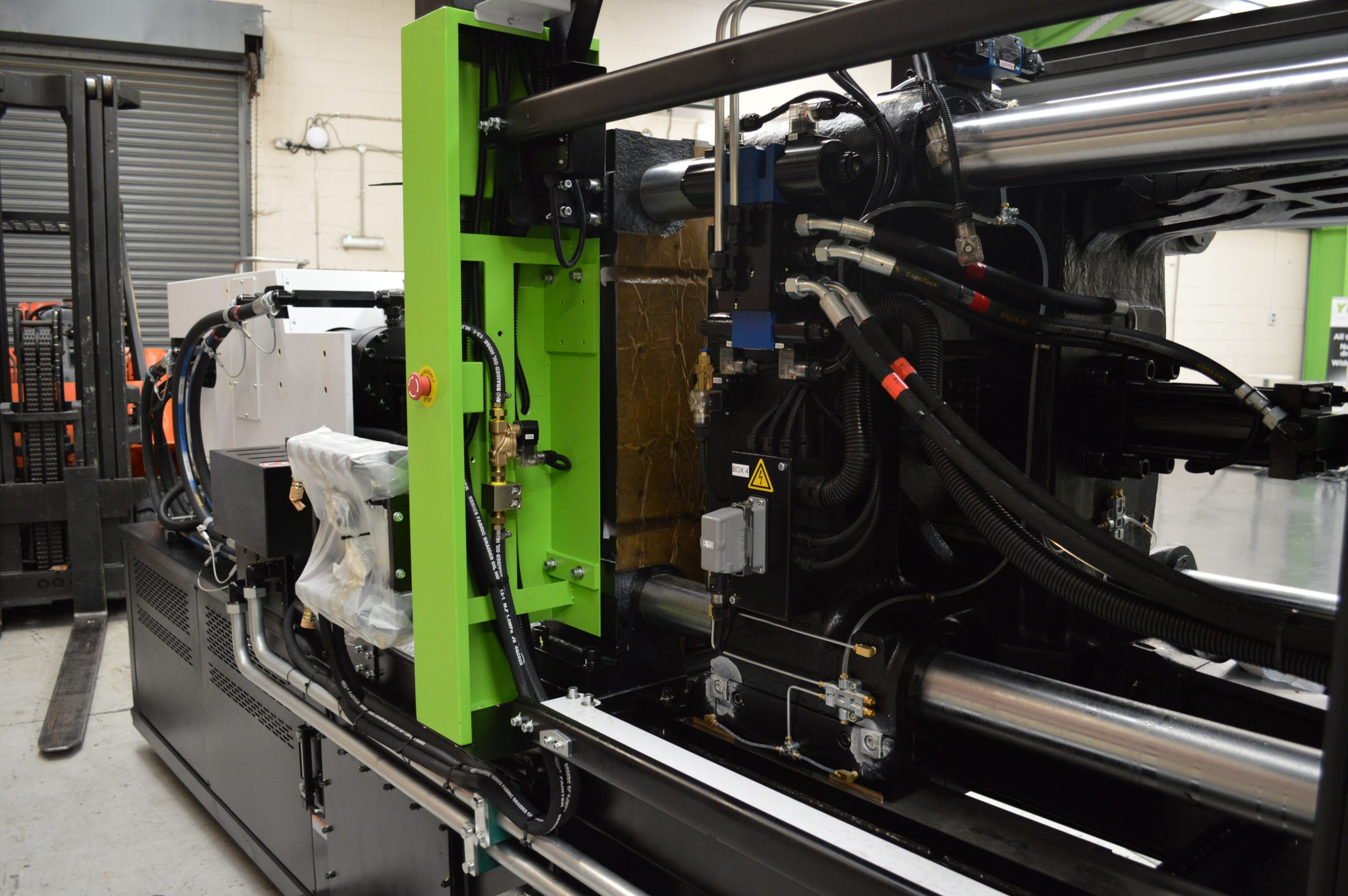 A5 fixed platen with guarding